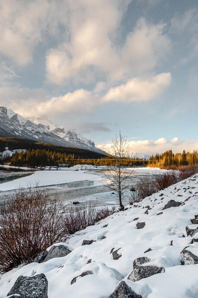 Policeman Creek Trail montagnes Canmore Refuse to hibernate