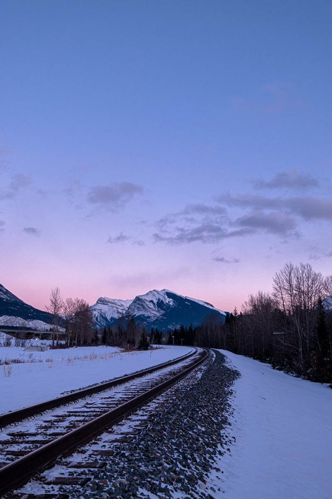 rails Canmore ciel rose Refuse to hibernate