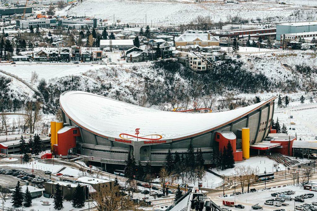 Scotiabank Saddledome Calgary Refuse to hibernate