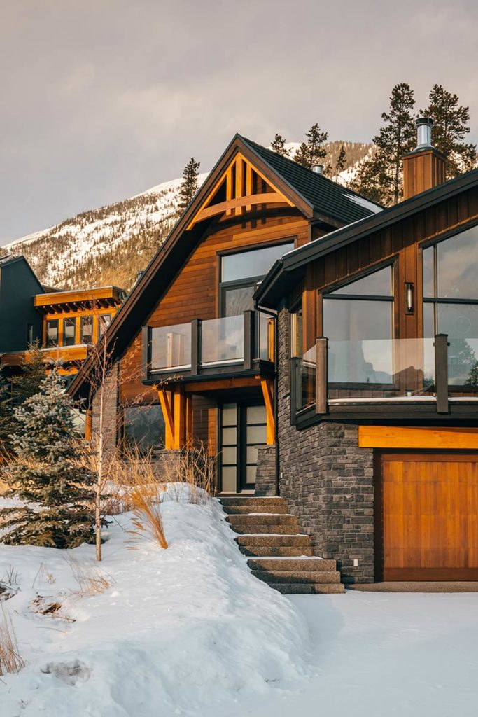 Silvertip to Eagle Heights chalet Canmore Refuse to hibernate