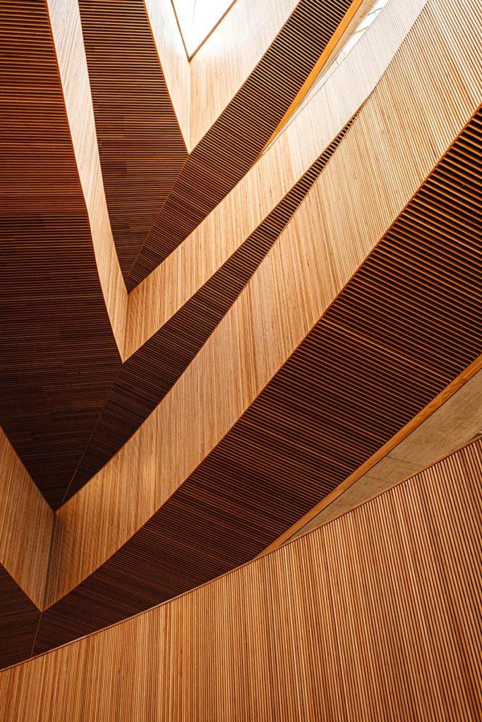 structure en bois bibliothèque Calgary Refuse to hibernate