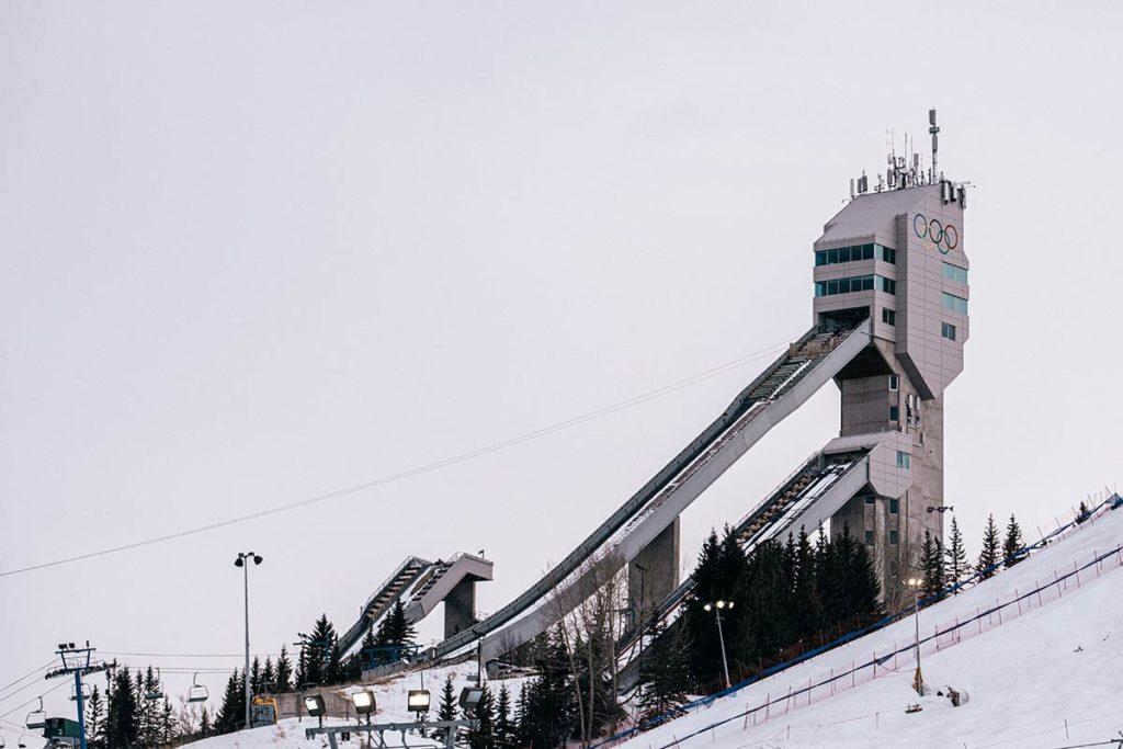 Winsport saut à skis Calgary Refuse to hibernate