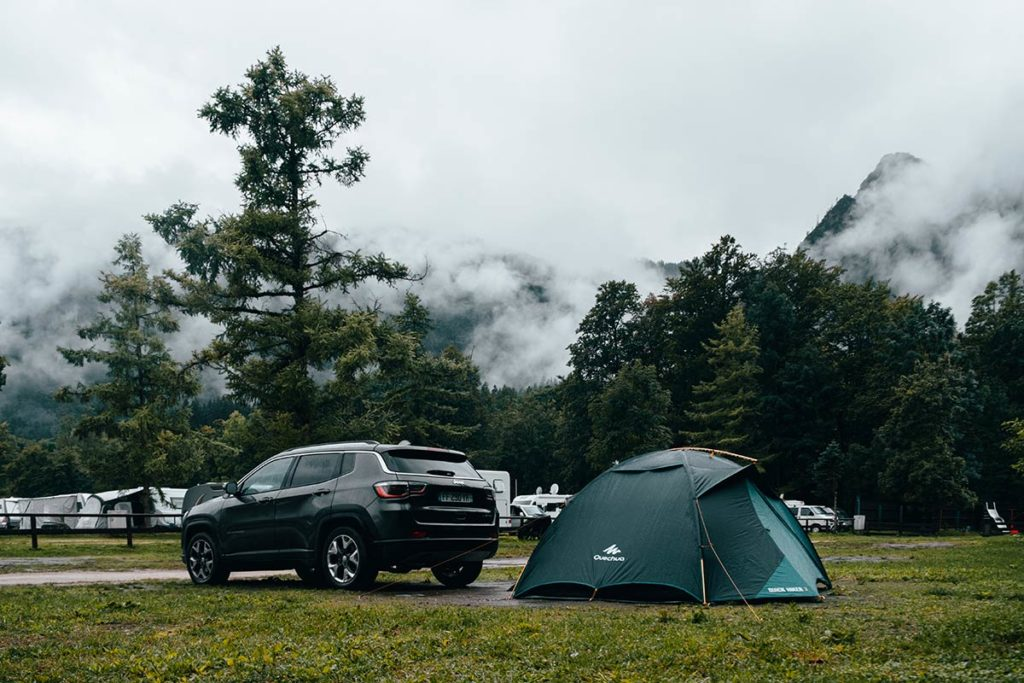 camping Grafenlehen tente Quechua Bavière Refuse to hibernate