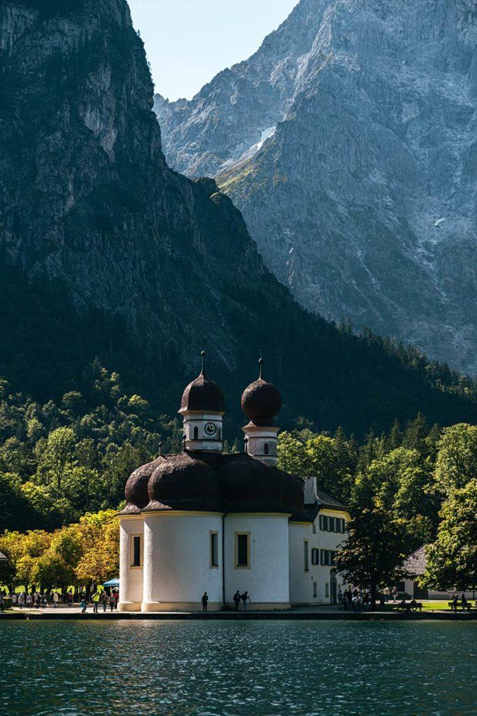 église Lac Königssee Bavière Refuse to hibernate