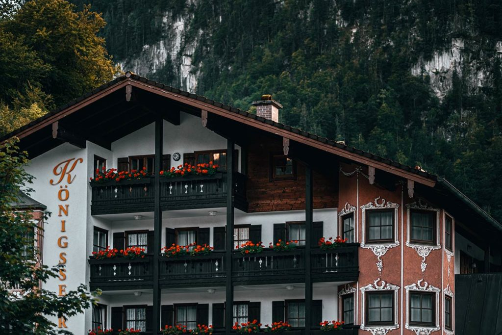 hôtel Königsseer Hof Bavière Refuse to hibernate