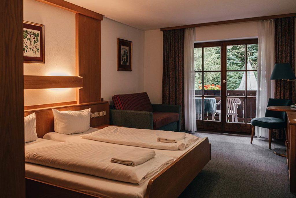 hôtel Königsseer Hof chambre Bavière Refuse to hibernate