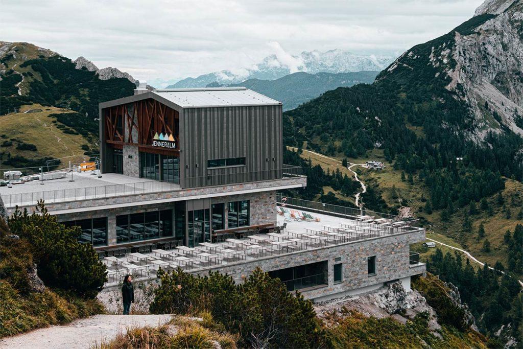 Mont Jenner restaurant Jenneralm Bavière Refuse to hibernate