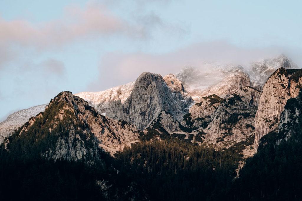 montagnes coucher de soleil Bavière Refuse to hibernate