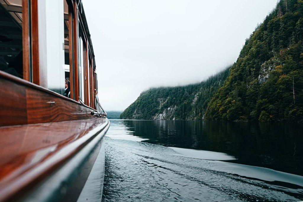 navette Lac Königssee Bavière Refuse to hibernate