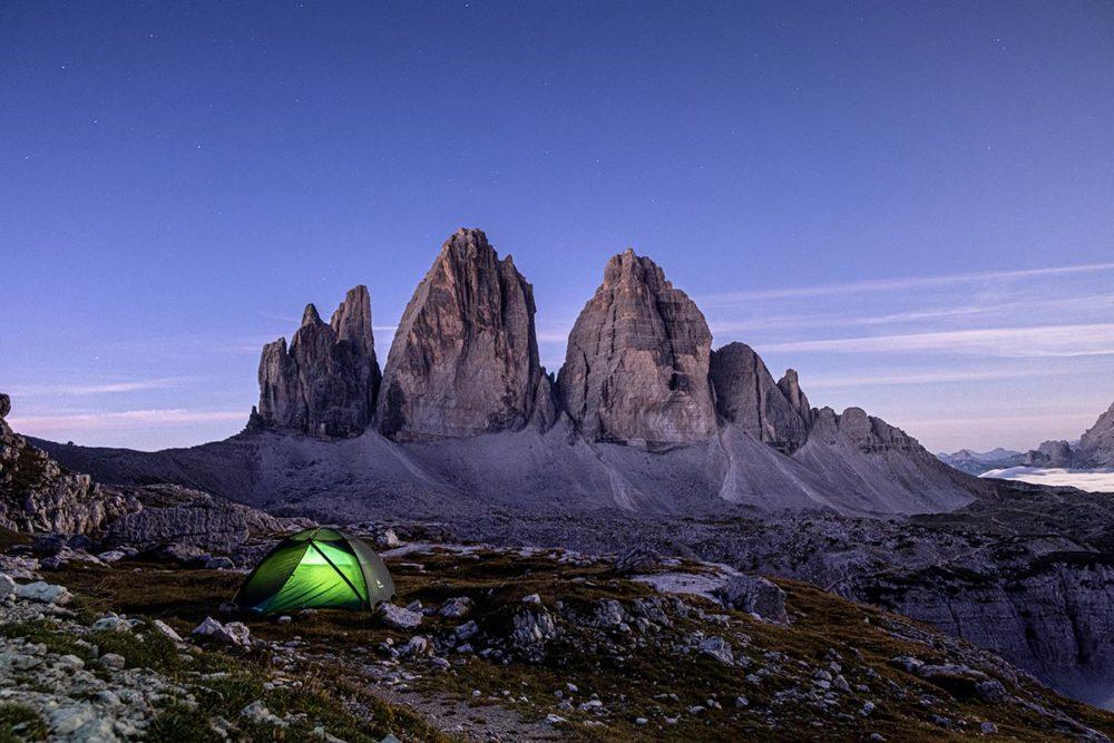 Tre Cime di Lavaredo : randonnée et bivouac dans les Dolomites
