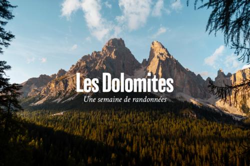 vidéo Dolomites voyage Refuse to hibernate